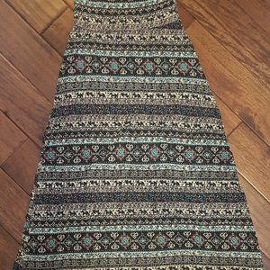Printed Maxi skirt from Boathouse